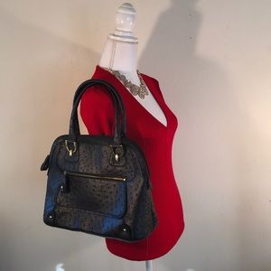 🍀March Madness🍀London Fog Handbag Ostrich Look